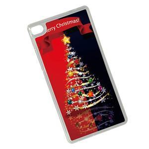Vánoční edice gélových obalů na Huawei Ascend P8 - stromeček - 2