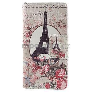 Peňaženkové puzdro Huawei Ascend P8 - Eiffelova veža - 2