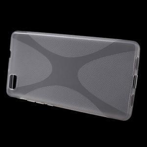 Gelový obal na Huawei Ascend P8 Lite - transparentní - 2