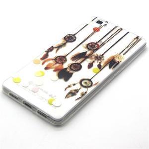 Transparentné gélový obal na Huawei Ascend P8 Lite - dream - 2
