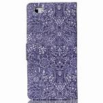 Puzdro na mobil Huawei P8 Lite - textury květin - 2/7