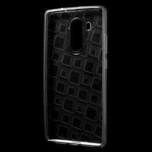Square gelový obal na Huawei Mate 8 - šedý - 2