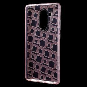 Square gelový obal na Huawei Mate 8 - růžový - 2