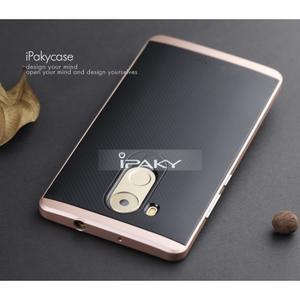 Odolný obal 2v1 s výstuhami na Huawei Mate 8 - zlatorůžový - 2