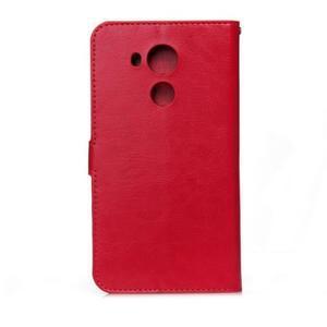 Peňaženkové puzdro na Huawei Mate 8 - červené - 2