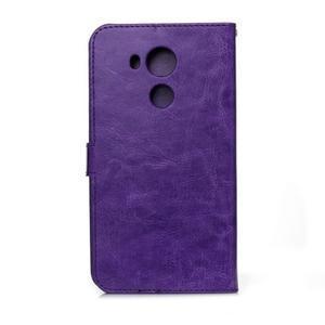 Peňaženkové puzdro na Huawei Mate 8 - fialové - 2