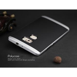 Odolný hybridní obal 2v1 na Huawei Mate S - stříbrný - 2
