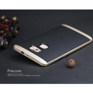 Odolný hybridní obal 2v1 na Huawei Mate S - zlat - 2