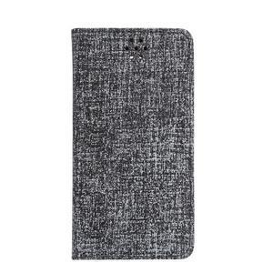 Style knižkové puzdro na mobil Huawei Mate S - čierne - 2