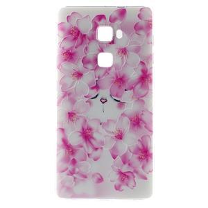 Softy gelový obal na mobil Huawei Mate S - kvetoucí švestka - 2