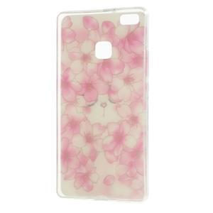 Guardy gelový obal na Huawei P9 Lite - květy - 2