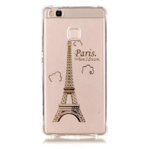 Lacqe geový obal na Huawei P9 Lite - Eiffelova věž - 2