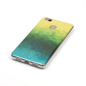 Gradient třpitivý gelový obal na Huawei P9 Lite - mix barev II - 2