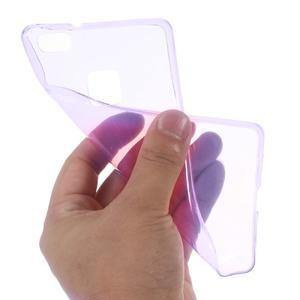 Super slim 0.5 mm gelový obal na Huawei P9 Lite - fialový - 2