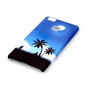 Shelly gelový obal na mobil Huawei P9 Lite - palmy - 2