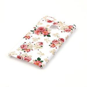 Shelly gelový obal na mobil Huawei P9 Lite - květiny - 2