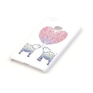 Shelly gelový obal na mobil Huawei P9 Lite - zamilovaní sloni - 2