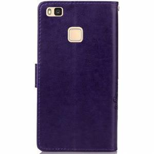 Cloverleaf peněženkové pouzdro na Huawei P9 Lite - fialové - 2