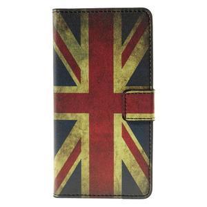 Peňaženkové puzdro Huawei Y635 - UK vlajka - 2
