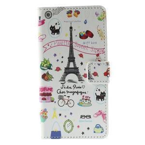 Peňaženkové puzdro Huawei Y635 - Eiffelova veža - 2