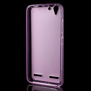 Matný gélový obal pre mobil Lenovo Vibe K5 / K5 Plus - ružový - 2