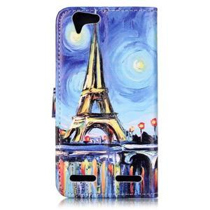 Knížkové puzdro pre mobil Lenovo Vibe K5 / K5 Plus - Eiffelova veža - 2