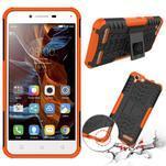 Outdoor odolný obal na mobil Lenovo Vibe K5 / K5 Plus - oranžový - 2/3