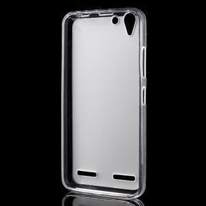 Matný gelový obal na mobil Lenovo Vibe K5 / K5 Plus - transparentní - 2