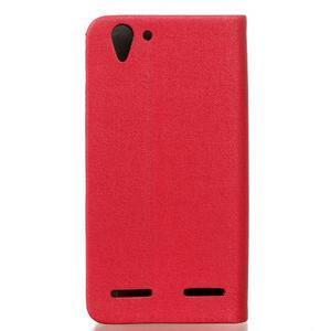 Klopové puzdro pre Lenovo Vibe K5 / K5 Plus - červené - 2