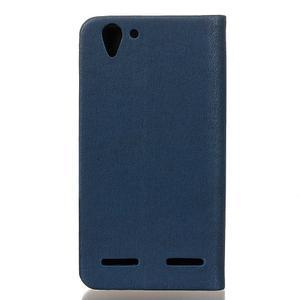 Klopové pouzdro na Lenovo Vibe K5 / K5 Plus - modré - 2