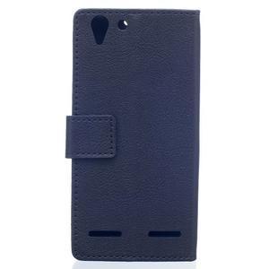 Peňaženkové puzdro pre Lenovo Vibe K5 / K5 Plus - čierné - 2
