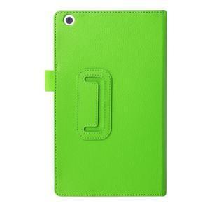 Dvojpolohové puzdro pre tablet Lenovo Tab 2 A8-50 - zelené - 2