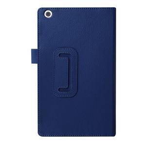 Dvojpolohové puzdro pre tablet Lenovo Tab 2 A8-50 - tmavomodré - 2