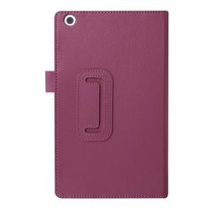 Dvojpolohové puzdro pre tablet Lenovo Tab 2 A8-50 - fialové - 2