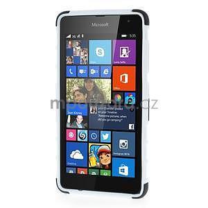 Vysoce odolný obal pre Microsoft Lumia 535 - biely - 2