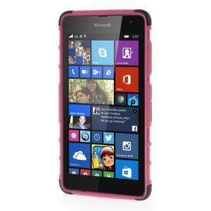 Vysoce odolný obal pre Microsoft Lumia 535 - rose - 2