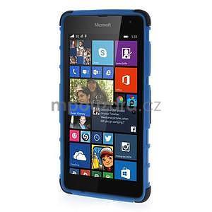 Vysoce odolný obal pre Microsoft Lumia 535 - modrý - 2