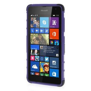 Vysoce odolný obal pre Microsoft Lumia 535 - fialový - 2