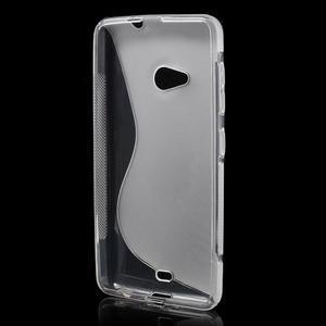 Gélový obal pre Microsoft Lumia 535 - transparentný - 2