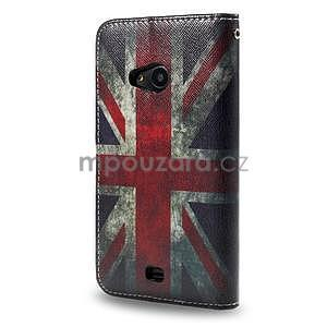 Peňaženkové puzdro Microsoft Lumia 535 - UK vlajka - 2