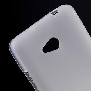 Matný gélový kryt na Microsoft Lumia 640 LTE - biely - 2