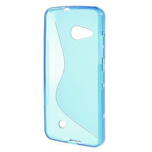 S-line gélový obal na mobil Microsoft Lumia 550 - modrý - 2