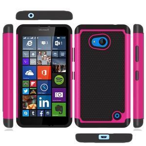 Odolný hybrdiní kryt na mobil Microsoft Lumia 640 - rose - 2