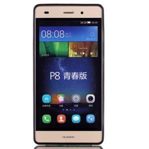 Gelový obal na mobil Huawei Ascend P8 Lite - happy - 2