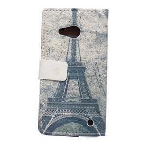 Peňaženkové puzdro pre mobil Microsfot Lumia 550 - kráľovská koruna - 2