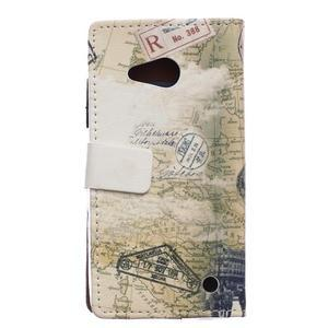 Peňaženkové puzdro pre mobil Microsfot Lumia 550 - Pisa - 2