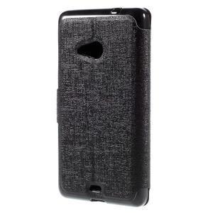 Solid puzdro na mobil Microsoft Lumia 535 - čierné - 2