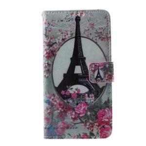 Cross peňaženkové puzdro na Huawei Honor 7 - Eiffelova veža - 2