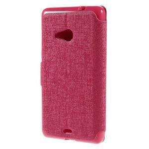 Solid puzdro pre mobil Microsoft Lumia 535 - rose - 2