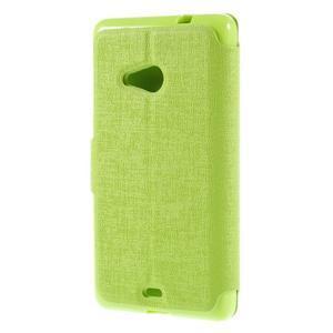 Solid puzdro na mobil Microsoft Lumia 535 - zelené - 2